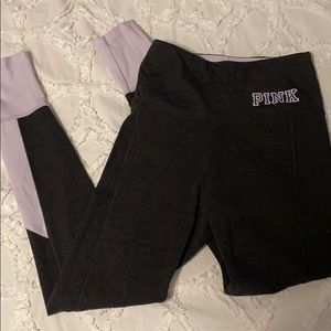 lavender & grey PINK leggings